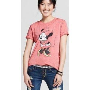 Disney Tops - Women's Disney Minnie Mouse Wink Graphic T-Shirt M